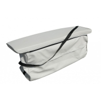 Soft seat cushion with a storage bag for MERLIN and EAGLE series boats